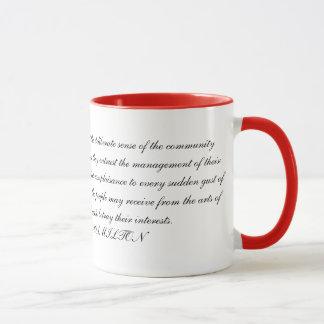 Alexander Hamilton Quotation Mug