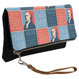 Alexander Hamilton Quotations Clutch