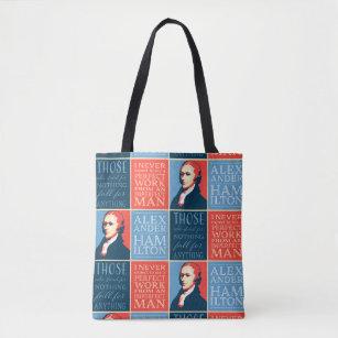 3edd04ed7e31 Alexander Hamilton Quotations Tote Bag