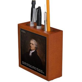 "Alexander Hamilton ""Real Liberty"" Desk Organizer"