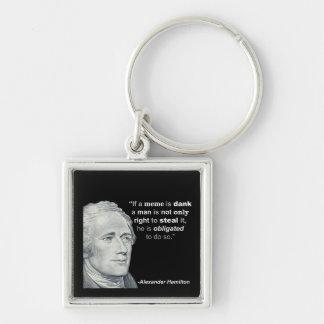 Alexander Hamilton's Dank Meme - Keychain