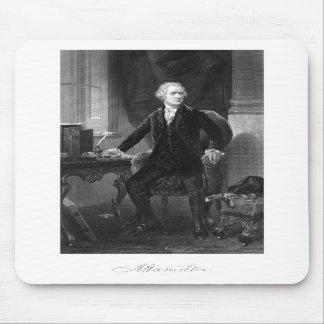 Alexander Hamilton Sitting At His Desk Mousepad