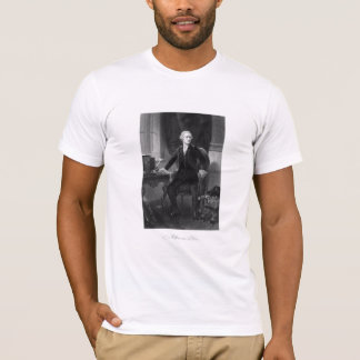 Alexander Hamilton Sitting At His Desk T-Shirt