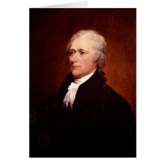 Alexander Hamilton Tarjeta De Felicitación