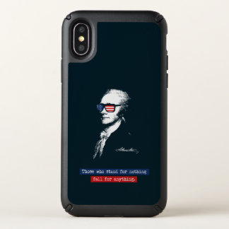 Alexander Hamilton Those who stand for nothing Speck iPhone X Case