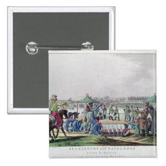 Alexander I  and Napoleon Pinback Button
