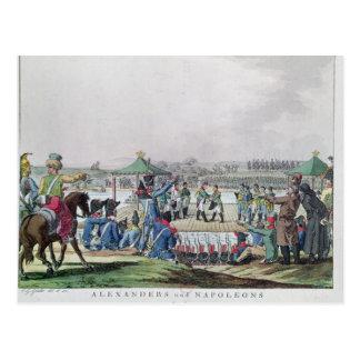 Alexander I  and Napoleon Postcard