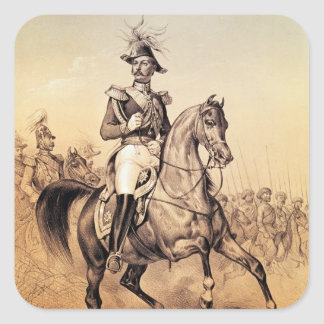 Alexander II  Czar of Russia Square Sticker