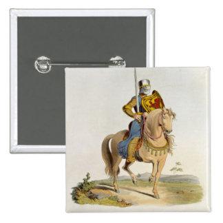Alexander II, King of Scotland (1198-1249) 1214, f Pinback Button