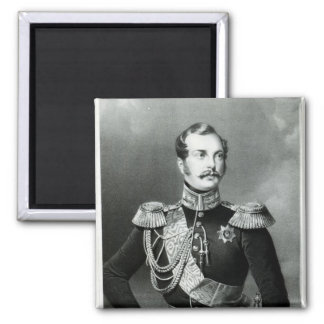 Alexander II  of Russia 2 Inch Square Magnet