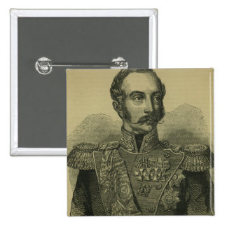 Alexander II  of Russia Pinback Button