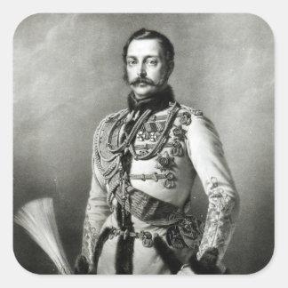 Alexander II  of Russia Square Sticker