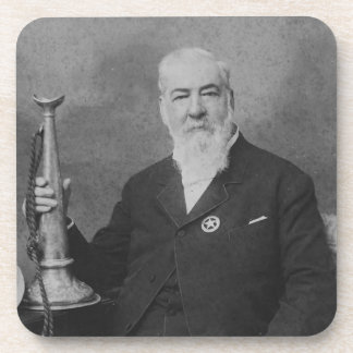 Alexander Joy Cartwright, Jr. Inventor of Baseball Beverage Coasters