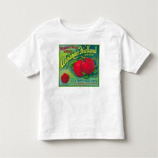 Alexander Kielland Apple Label - Cashmere, WA Toddler T-shirt