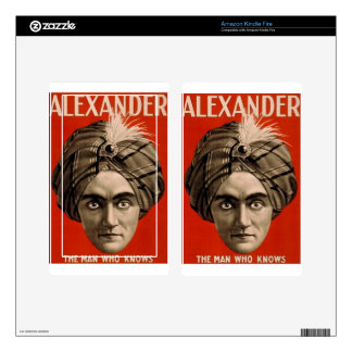 Alexander Knows Kindle Fire Decal