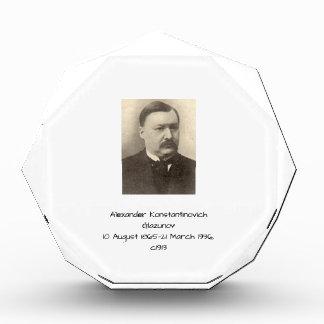 Alexander Konstamtinovich Glazunov c1913 Award