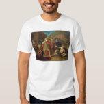 Alexander las grandes visitas Diógenes en Corinto Camisas