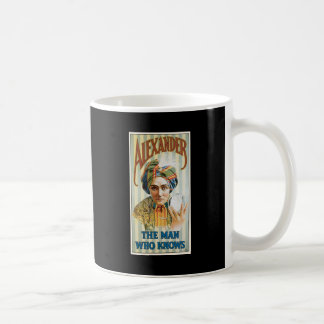 Alexander ~ Mentalist Physic Vintage Magic Act Mug