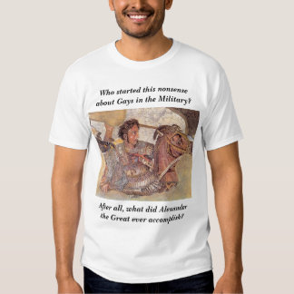 alexander.mosaic, Who started this nonsense abo... Tee Shirt