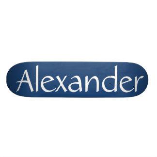 Alexander name skateboard