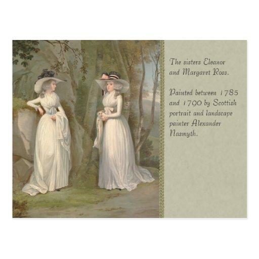 Alexander Nasmyth Two Sisters CC0178 Postcard