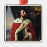 Alexander Nevsky, Duke of Novgorod Metal Ornament