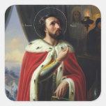Alexander Nevsky, Duke of Novgorod Square Stickers