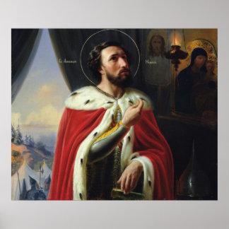 Alexander Nevsky, duque de Novgorod Posters