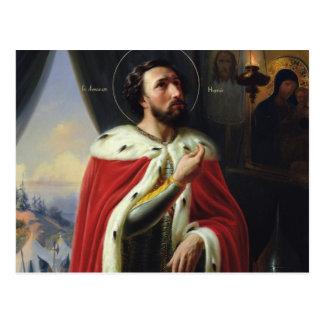 Alexander Nevsky, duque de Novgorod Tarjetas Postales