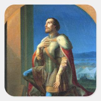 Alexander Nevsky Prince of Novgorod Stickers