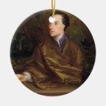 Alexander Pope (1688-1744) 1738 (aceite en lona) Ornamentos De Navidad