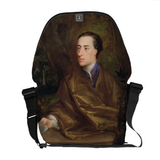 Alexander Pope (1688-1744) 1738 (oil on canvas) Courier Bag