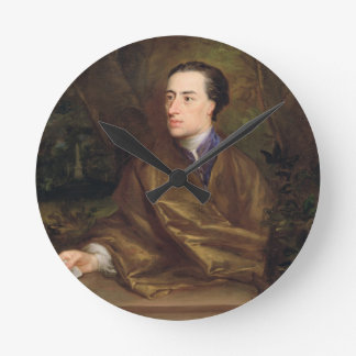 Alexander Pope (1688-1744) 1738 (oil on canvas) Round Clock