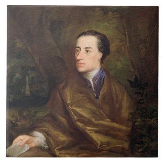 Alexander Pope (1688-1744) 1738 (oil on canvas) Tile