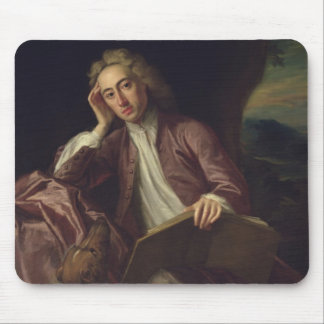 Alexander Pope and his dog, Bounce, c.1718 Mouse Pad