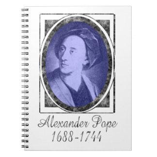 Alexander Pope Cuaderno