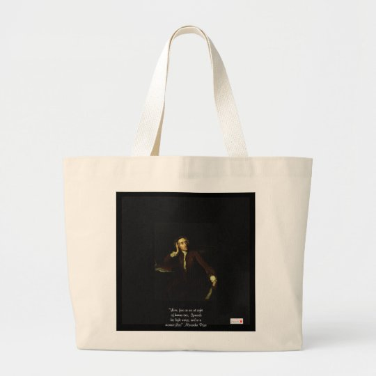 "Alexander Pope ""Love Free As Air"" Sustanable Bag"