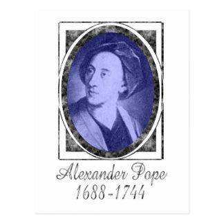 Alexander Pope Postcard