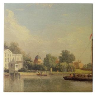 Alexander Pope's (1688-1744) Villa, Twickenham, c. Tile