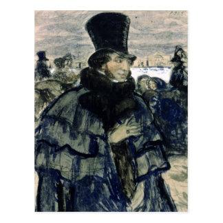 Alexander Pushkin  on the Neva Embankment Post Cards