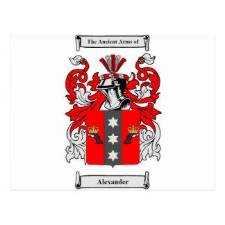 Alexander (Russian) Coat of Arms Postcard