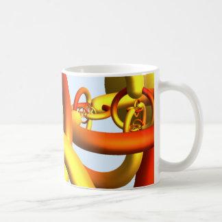 Alexander s Horned Sphere Mug - Warm Colors