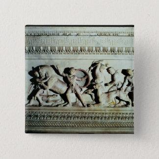 Alexander Sarcophagus Pinback Button
