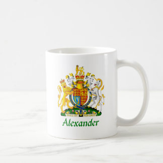 Alexander Shield of Great Britain Coffee Mug
