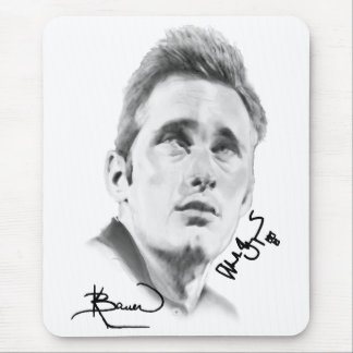 """Alexander Skarsgard"" by Kristin Bauer Mouse Pad"
