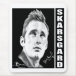 Alexander Skarsgard By Kristin Bauer Mouse Pad