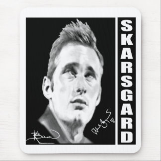 Alexander Skarsgard By Kristin Bauer Mouse Pad