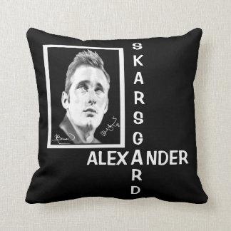 """Alexander Skarsgard"" by Kristin Bauer Throw Pillows"