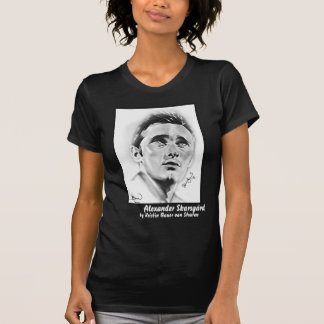 """Alexander Skarsgard"" by Kristin Bauer T-Shirt"
