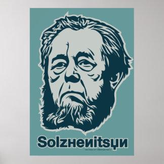 Alexander Solzhenitsyn Poster